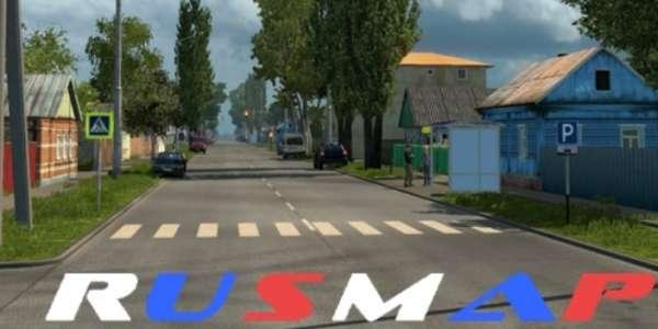 моды для euro truck simulator 2 карта россии и украины скачать бесплатно