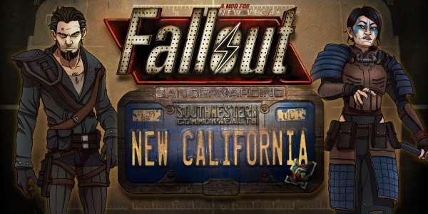 New Vegas - Fallout: New California (огромный глобальный мод)