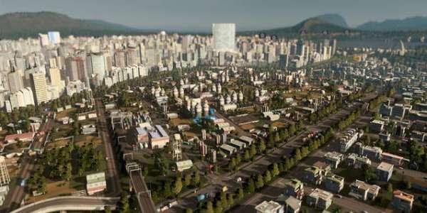 Cities: Skylines - мод на реалистичный свет Realistic II
