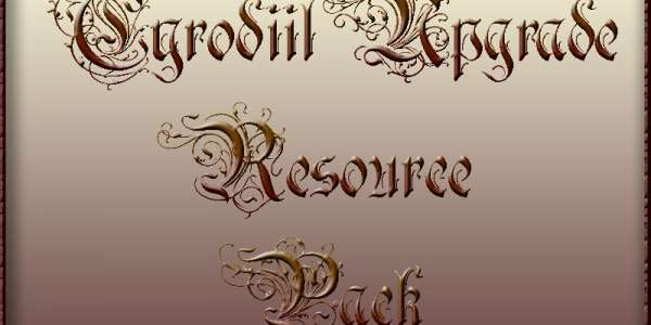 Oblivion: мод Cyrodiil Upgrade Resource Pack