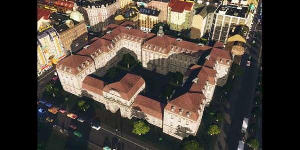 Cities: Skylines - Старый Больничный Корпус