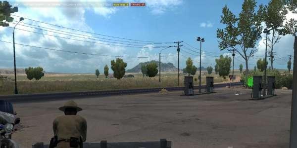 American Truck Simulator: карта MHA Pro