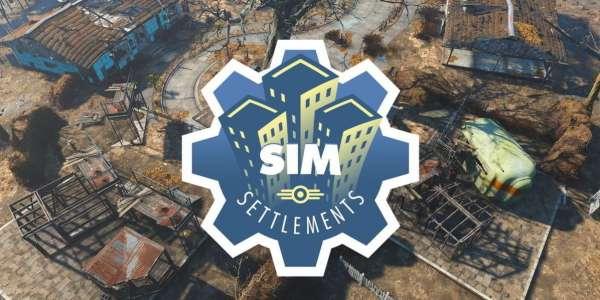 Fallout 4: мод Сим Поселения / Sim Settlements + 3в1