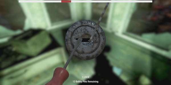 Fallout 76: мод Индикатор взлома замков / Lockpick Bar