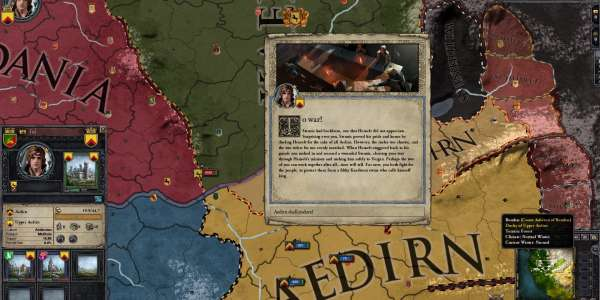 Crusader Kings 2: мод по вселенной Ведьмака (Witcher Kings)