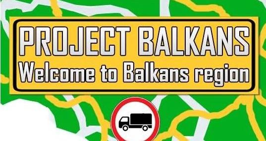 Euro Truck Simulator 2: карта Балканского полуострова (Project Balkans)