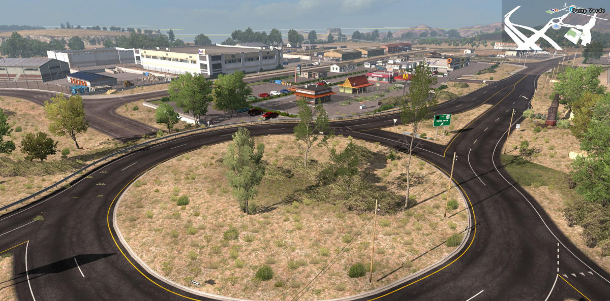 American Truck Simulator: карта Arizona Improvement Project