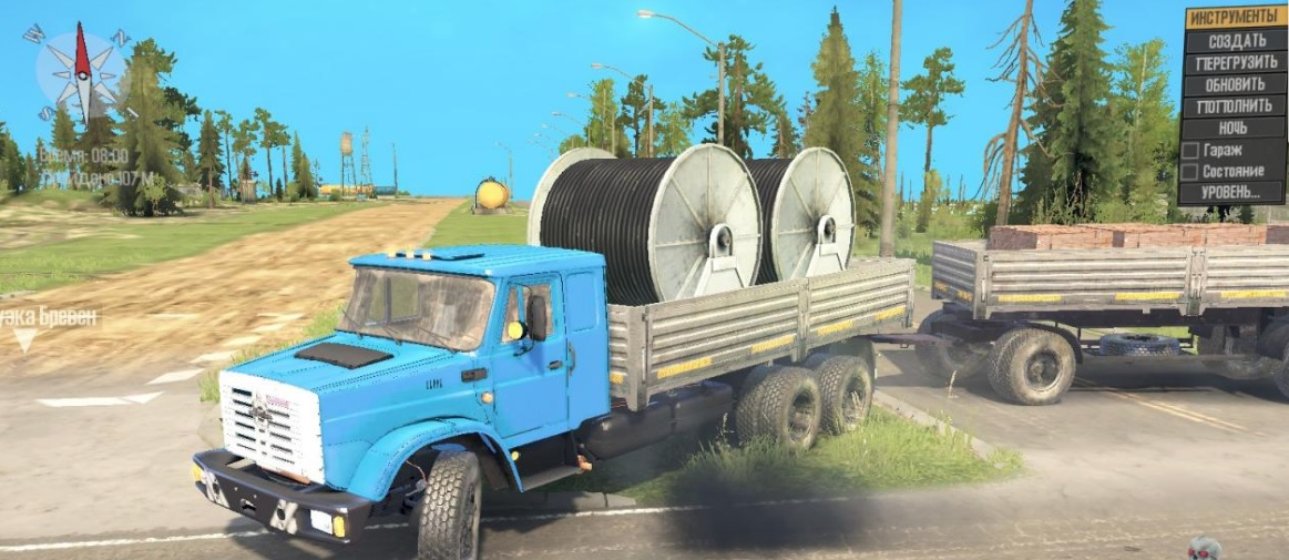 Spintires: MudRunner мод на ЗИЛ-4340