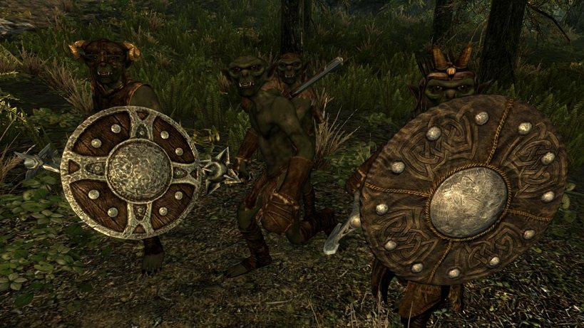 Skyrim: мод Гоблины (Goblins - Mihail Monsters and Animals)