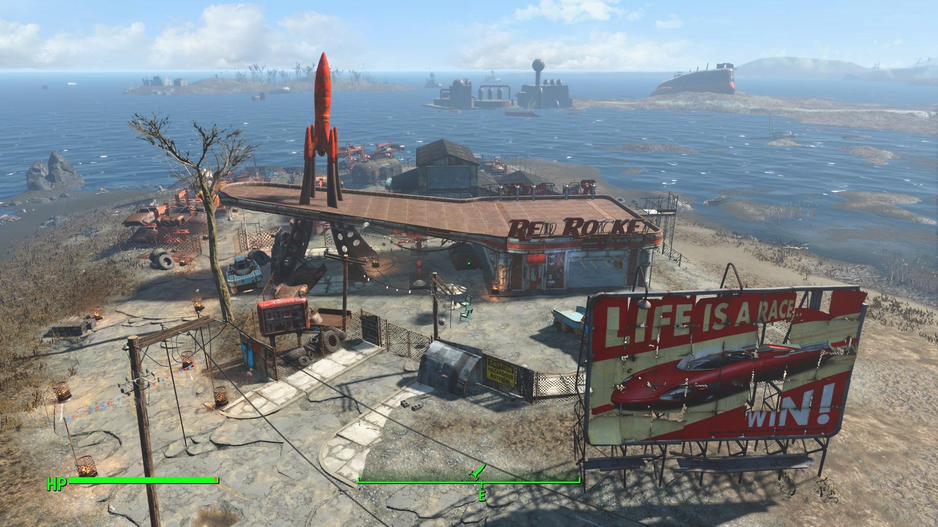 "Fallout 4: мод Поселения ""Красная ракета"" (Red Rocket Settlements)"