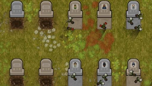Prison Architect: мод Кладбище (Cemetery)