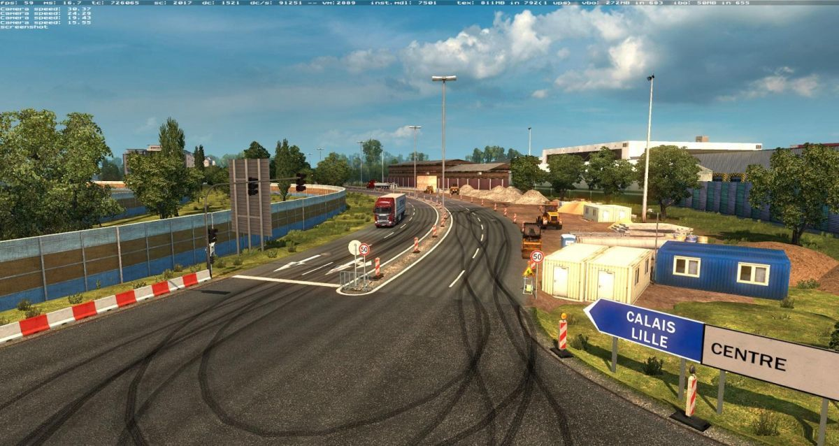 Euro Truck Simulator 2: карта MHA Pro (Насыщение Европы)
