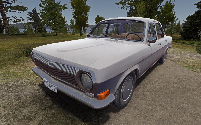 Мод Новая машина ГАЗ 24 Волга (GAZ 24 Volga)