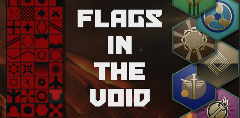 Мод Коллекция фонов для флагов (Flags in the void)