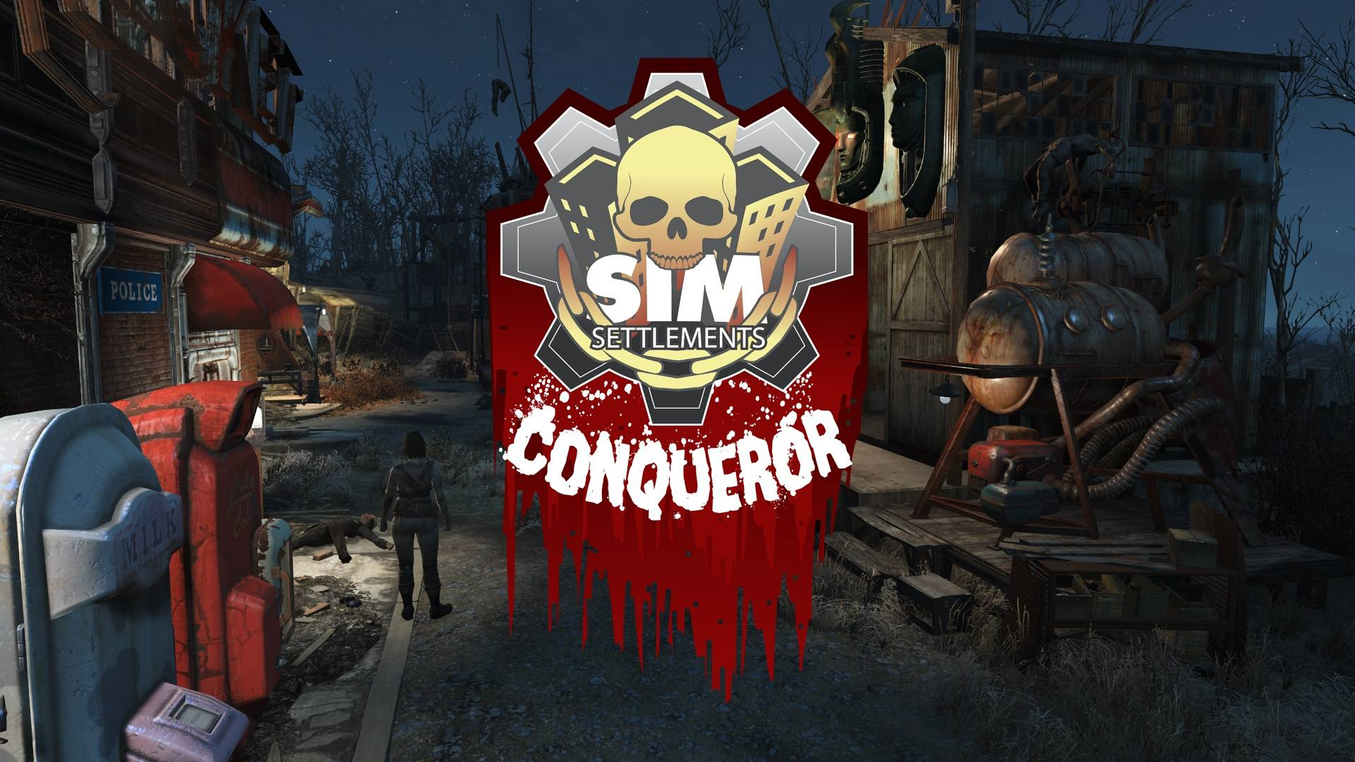 Мод Сим поселения - Завоеватель (Sim Settlements - Conqueror)
