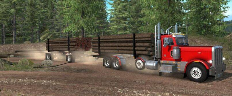 Мод Пак прицепов для Project 3XX (Project 3XX Heavy Truck and Trailer Add-on)