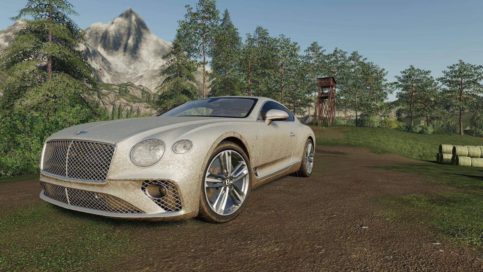 Мод Bentley Continental GT 2018