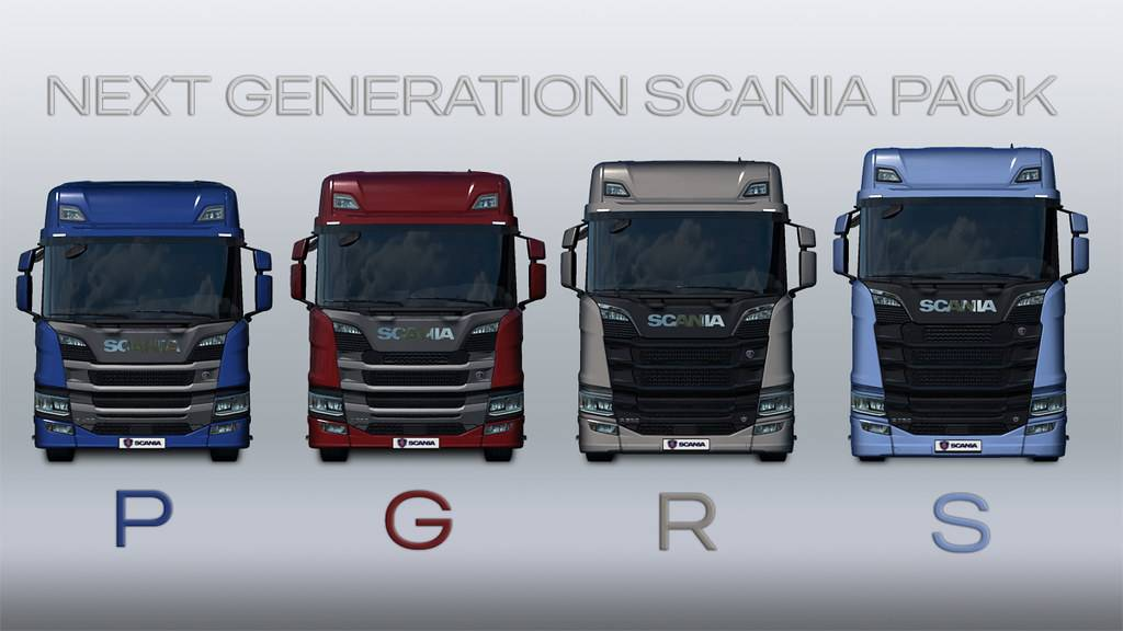Мод Next Generation Scania | Improvements and Rework (P G R S)