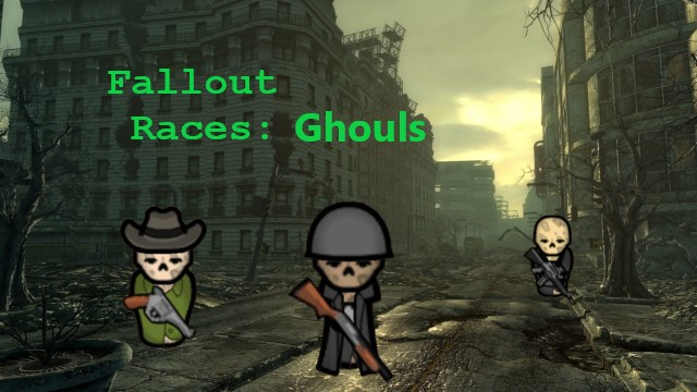 Мод на Гулей из Fallout (Fallout Races: Ghouls)