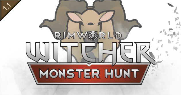 RimWorld - Witcher Monster Hunt