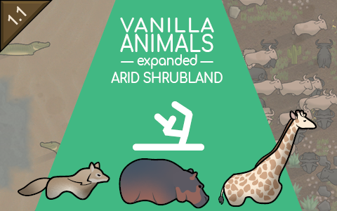 Vanilla Animals Expanded — Arid Shrubland