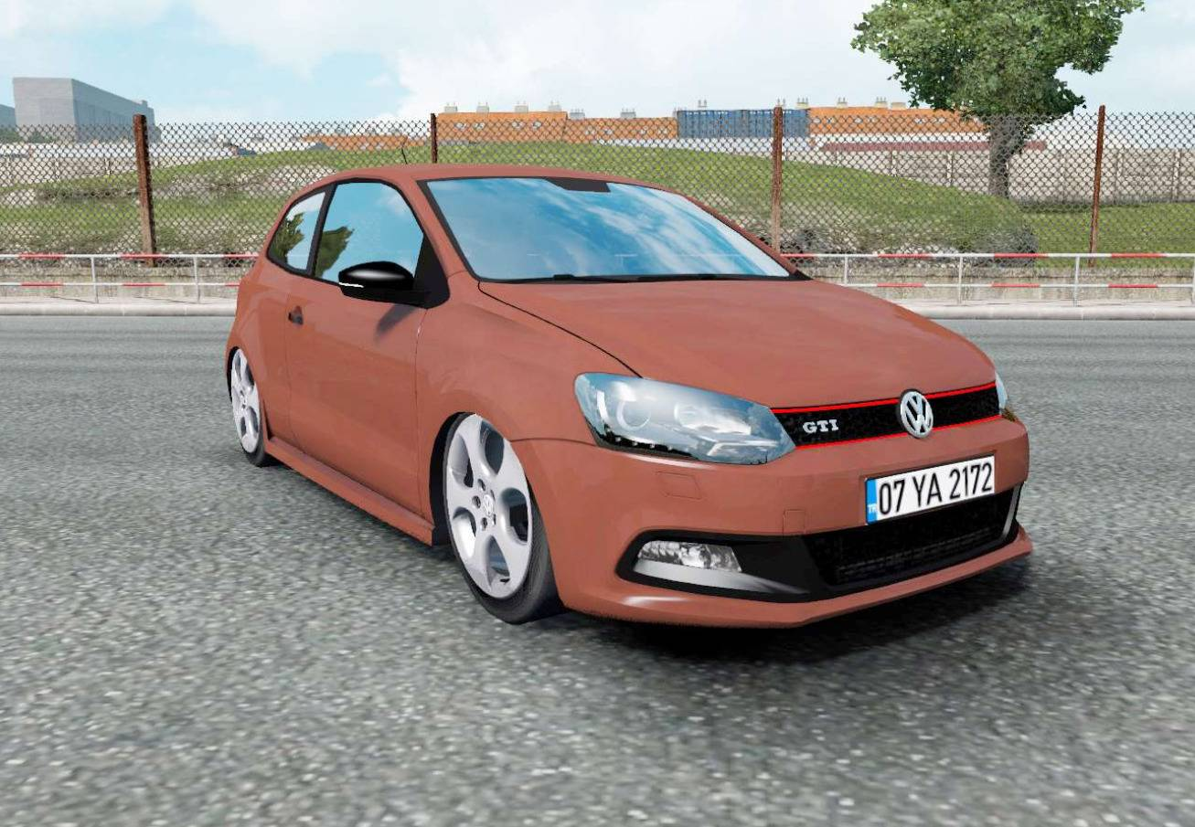 VOLKSWAGEN POLO GTI (TYP 6R) 2011