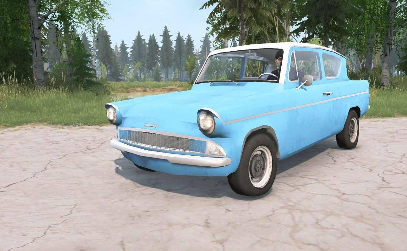 Ford Anglia Deluxe (105E) 1959