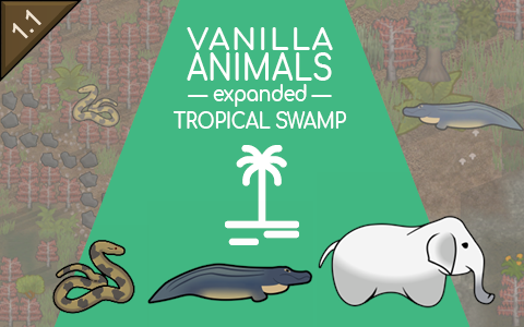 Vanilla Animals Expanded — Tropical Swamp