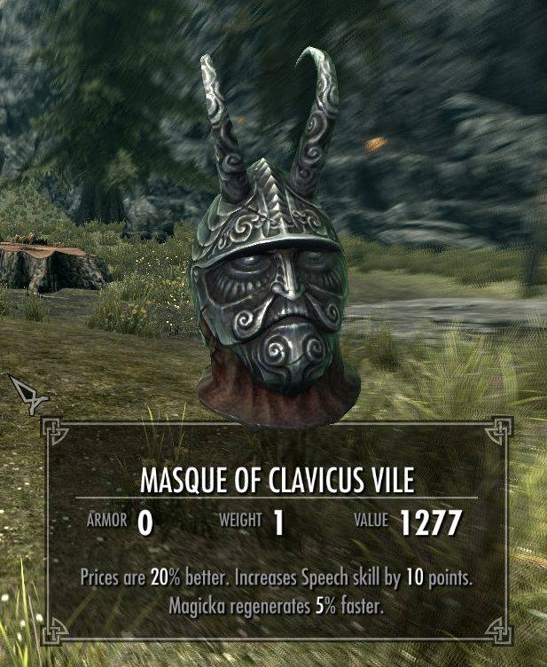 Devious Masque of Clavicus Vile
