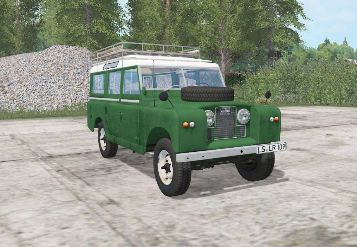 LAND ROVER 109 STATION WAGON 1965