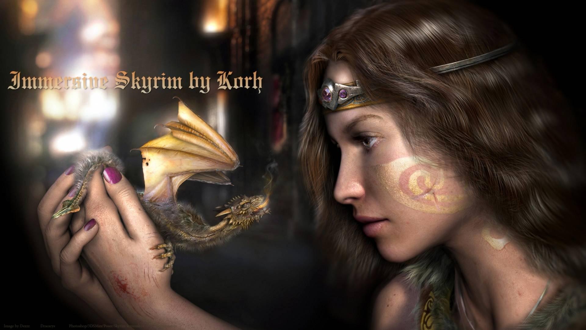 Immersive Skyrim SE mod pack 18+ by Korh - Скайрим Специальное издание сборка модов 18+ Секслаб