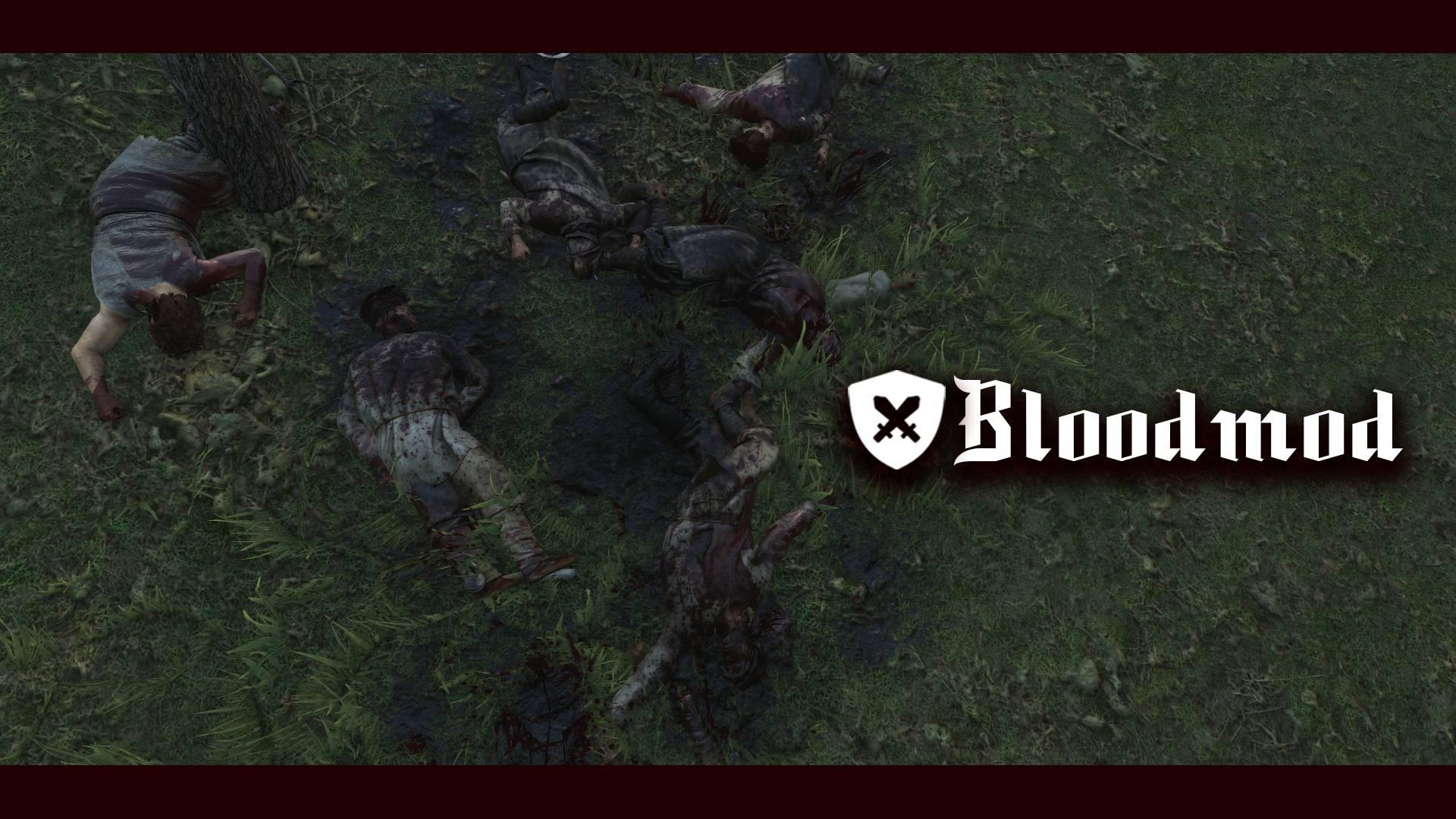 Мод на увеличение крови и земле и на одежде (BloodMod - More Blood and Gore)