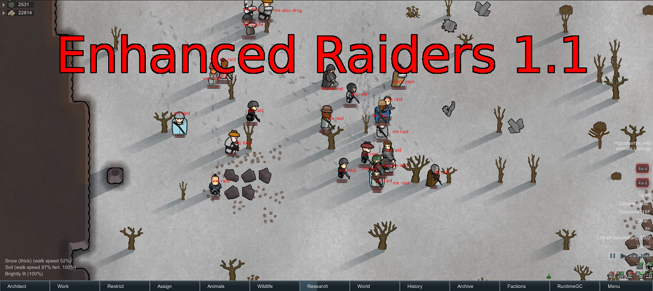 Enhanced Raiders
