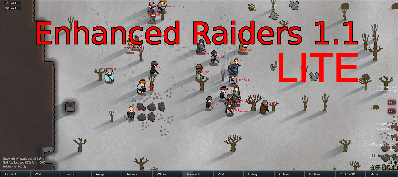 Enhanced Raiders Lite