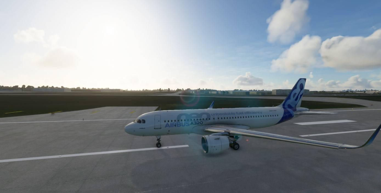 Самолет - улучшенный A32NX, A320neo, от FlyByWire для Microsoft Flight Simulator (Aircraft - FlyByWire A32NX, A320neo Improved for Microsoft Flight S)