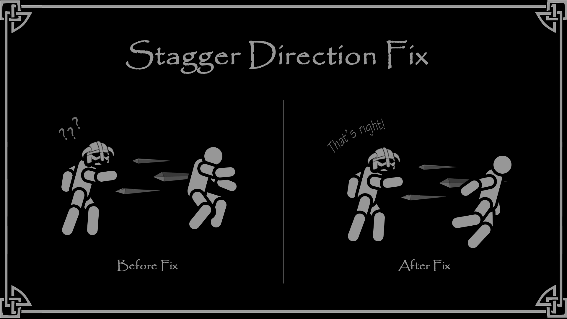 Stagger Direction Fix - SSE