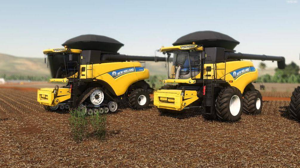 New Holland CR EVO Series
