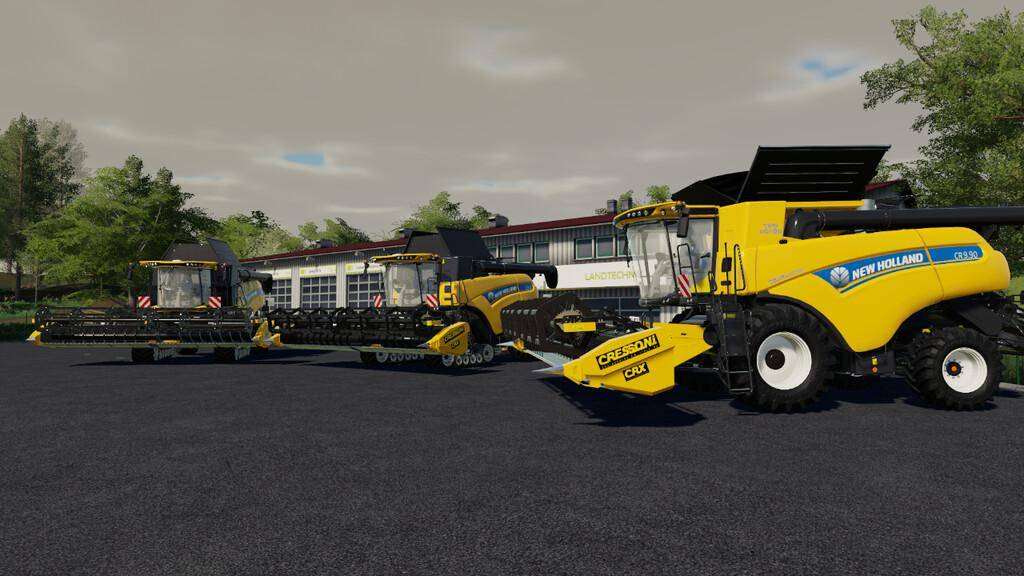 New Holland CR 6.90