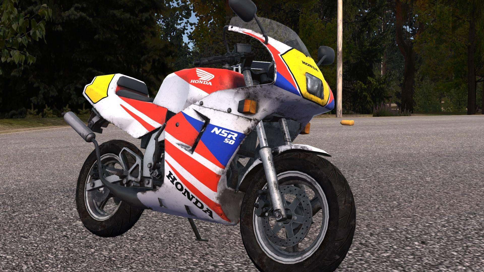 Мод на мотоцикл HONDA NSR50