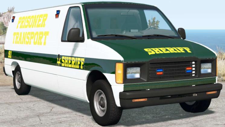 Gavril H-Series Prison Van