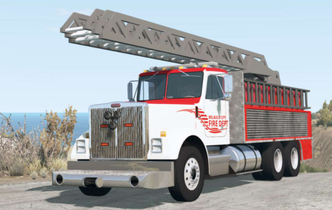 Мод Gavril T-Series Ladder Fire Truck v1.2