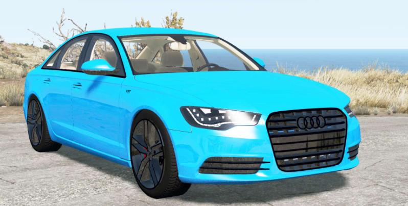 Мод Audi A6 quattro sedan (C7) 2014