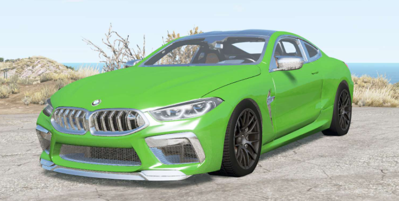 Мод BMW M8 Competition coupe (F92) 2019