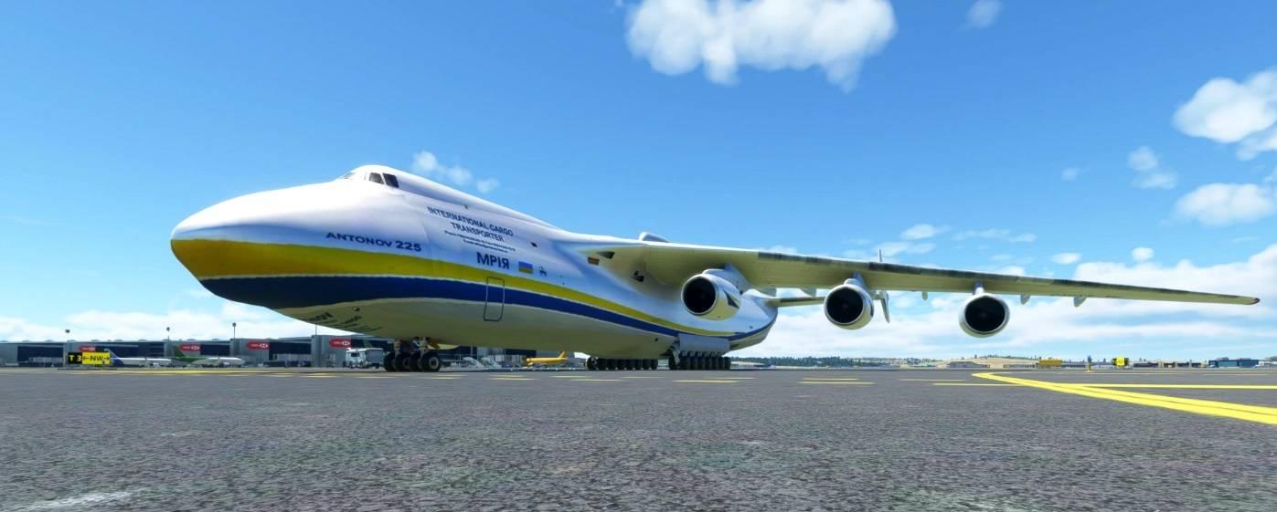 "Мод Самолет Ан-225 Мрия (Antonov AN-225 ""Mrija"")"