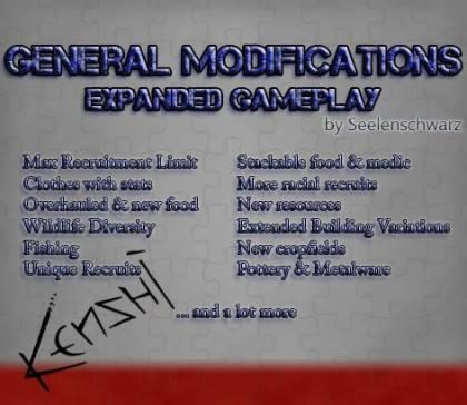 General Modifications [Kenshi]