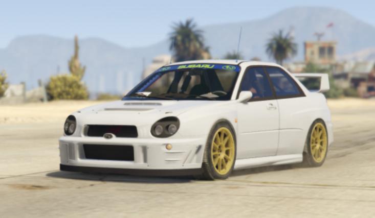 Subaru Impreza Rally 2001