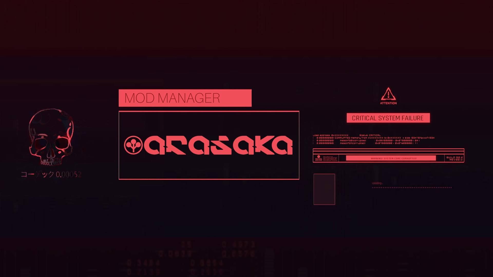 Mod Manager [Cyberpunk 2077]