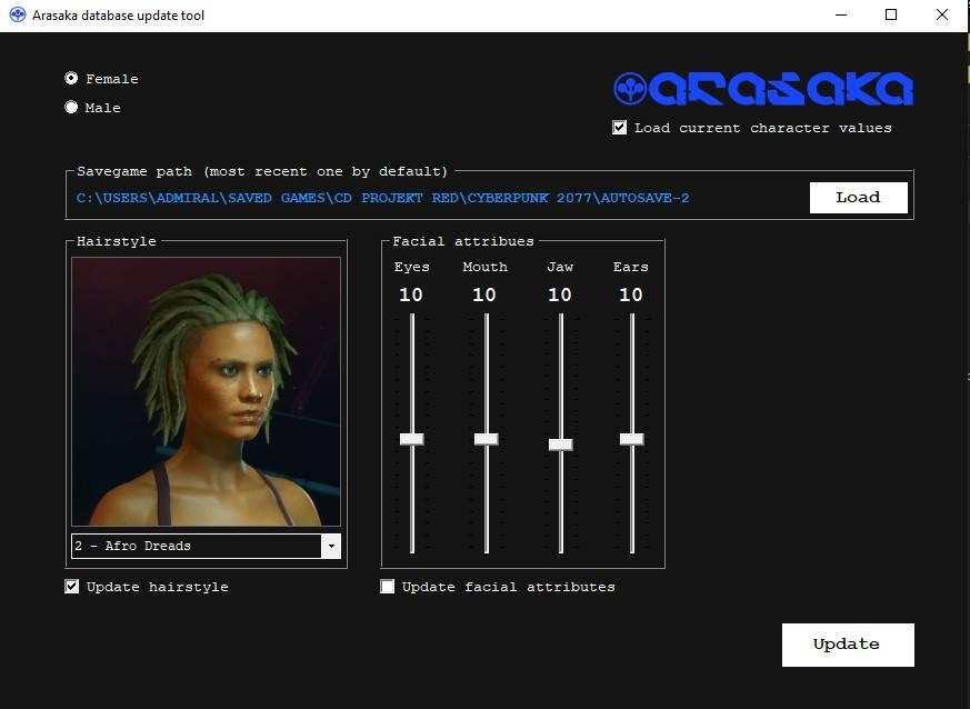 Arasaka Appearance Updater [Cyberpunk 2077]