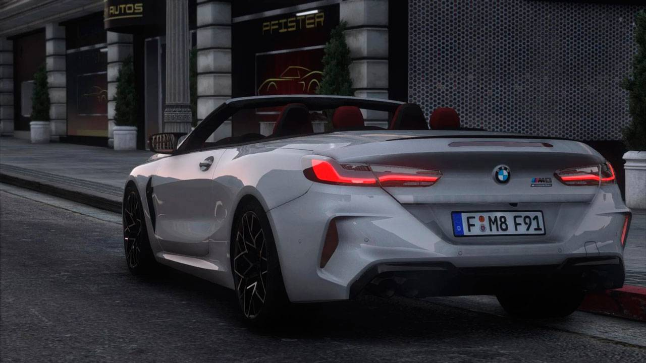 2021 BMW M8 F91 Competition
