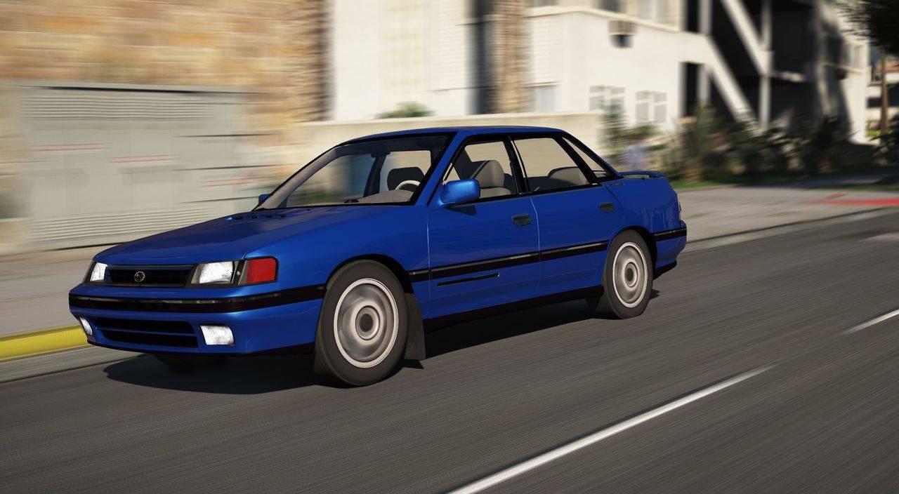 Subaru Legacy RS Series I BC 1990